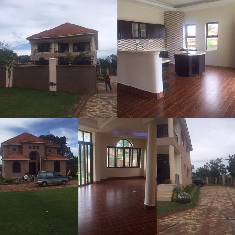 House In Entebbe For Rent With Airport And Lake View At
